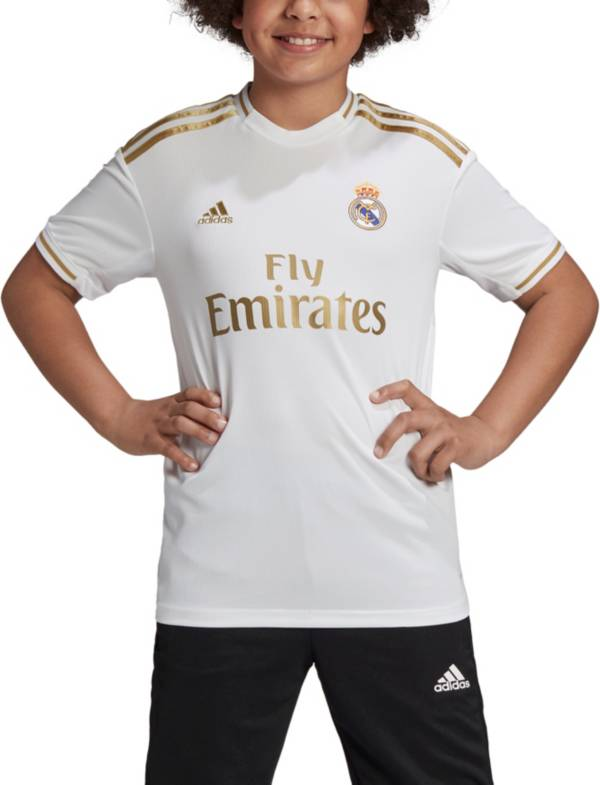 adidas Youth Real Madrid '19 Stadium Home Replica Jersey product image