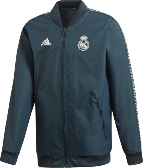 2c506ea5d91 adidas Youth Real Madrid Anthem Grey Jacket. noImageFound. Previous