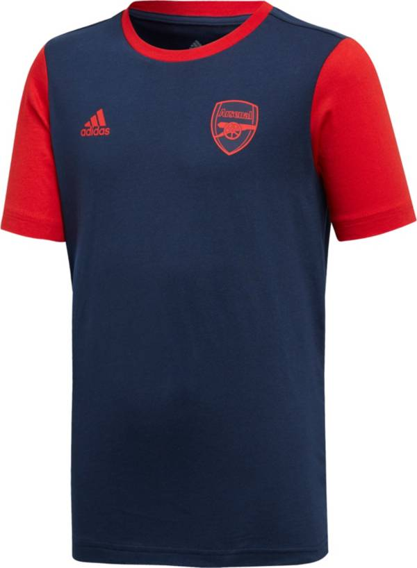 adidas Youth Arsenal DNA Graphic Navy T-Shirt product image