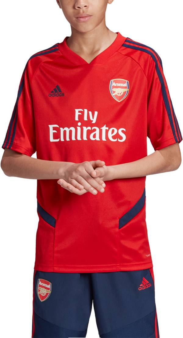 adidas Youth Arsenal '19 Red Training Jersey product image