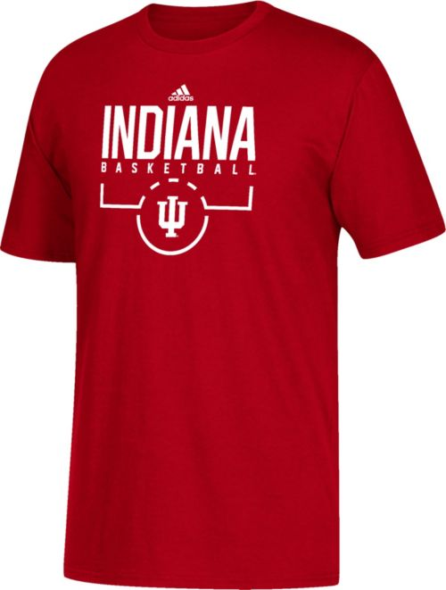 71b90598a60 Adidas Shirt Youth T Crimson Basketball Indiana Hoosiers Performance  BoredWCx