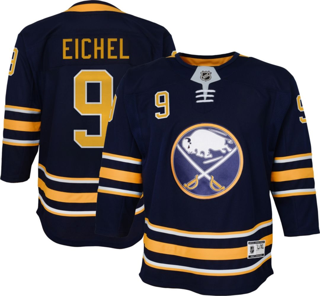 official photos a848f d8c46 NHL Youth Buffalo Sabres Jack Eichel #9 Premier Home Jersey