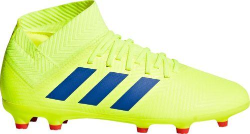 f7d1f130de28 adidas Kids' Nemeziz 18.3 FG Soccer Cleats. noImageFound. Previous