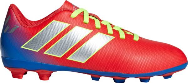 Adidas Kids Nemeziz Messi 18 4 Fxg Soccer Cleats Dick S Sporting Goods