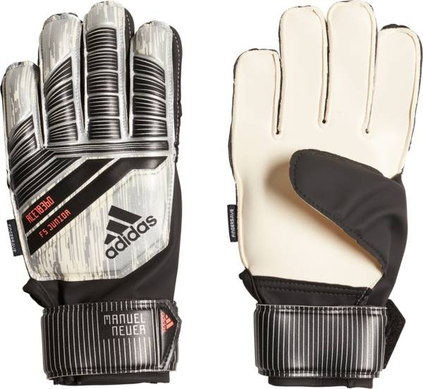 adidas Predator Fingersave Junior Soccer Goalkeeper Gloves product image