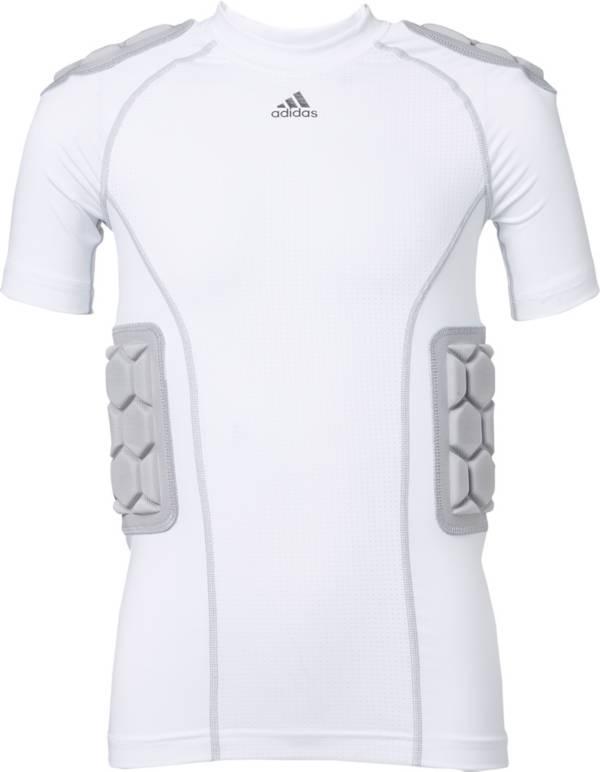 adidas Youth Techfit Padded Football Shirt product image