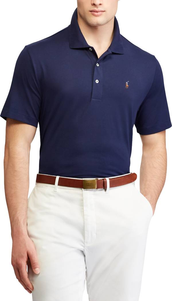 Polo Golf Men's Solid Performance Lisle Golf Polo product image