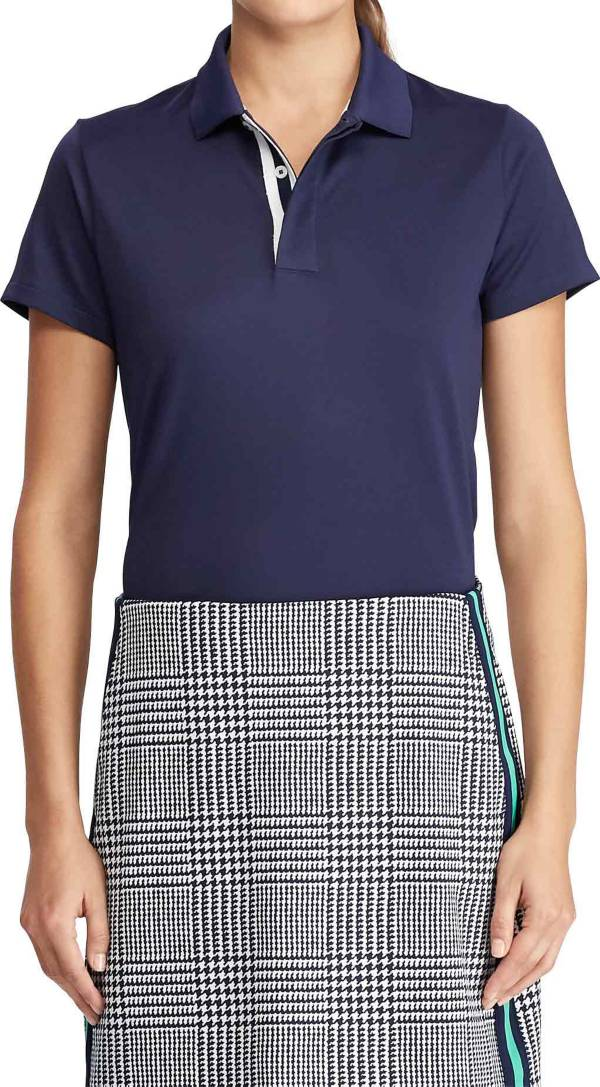 Ralph Lauren Women's Tailored Fit Jersey Golf Polo product image