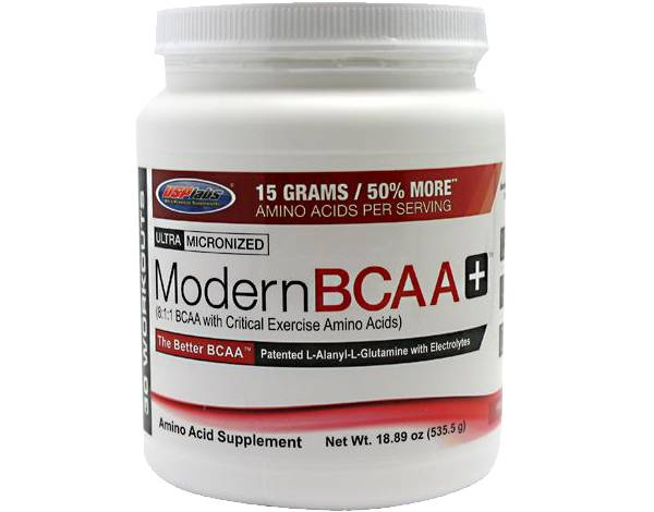 USP Labs Modern BCAA+ Fruit Punch 30 Servings product image