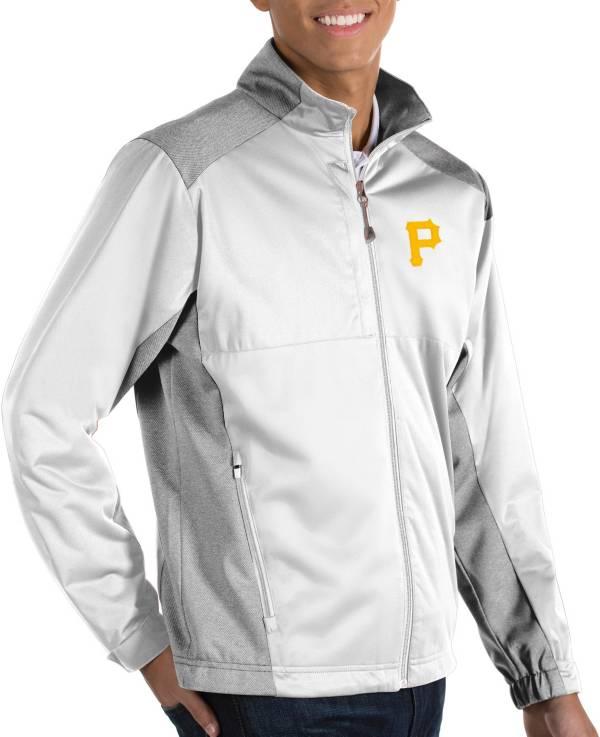 Antigua Men's Pittsburgh Pirates Revolve Full-Zip Jacket product image