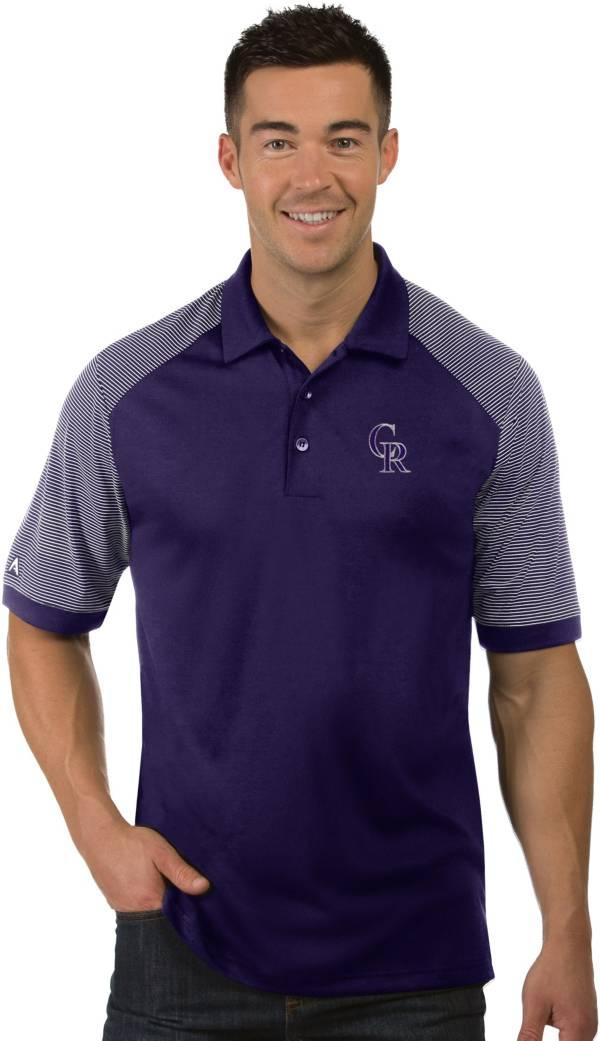 Antigua Men's Colorado Rockies Engage Polo product image