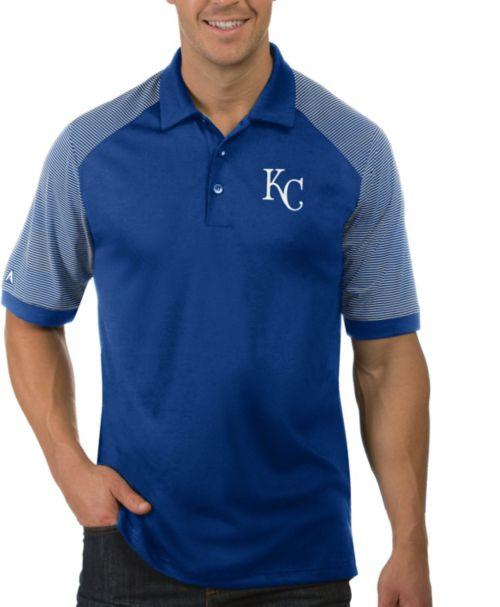 check out 3a341 f5b37 Antigua Men's Kansas City Royals Engage Royal Polo
