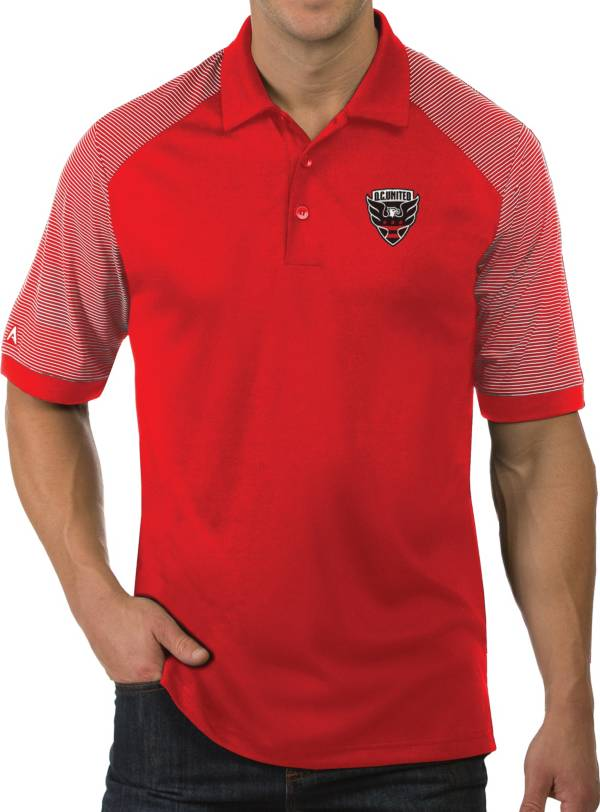 Antigua Men's D.C. United Engage Red Polo product image