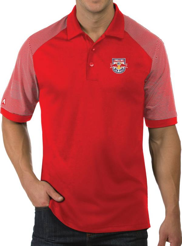 Antigua Men's New York Red Bulls Engage Red Polo product image