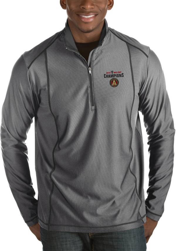 Antigua Men's 2018 MLS Cup Champions Atlanta United Tempo Performance Quarter-Zip Pullover Shirt product image