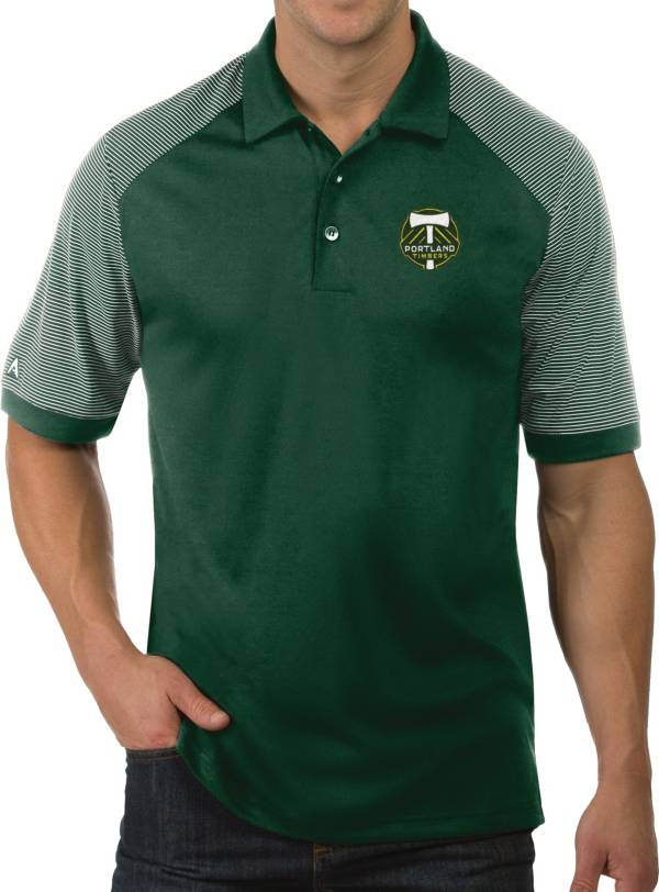 Antigua Men's Portland Timbers Engage Green Polo product image