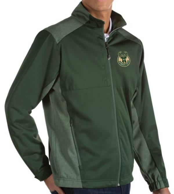 Antigua Men's Milwaukee Bucks Revolve Full-Zip Jacket product image