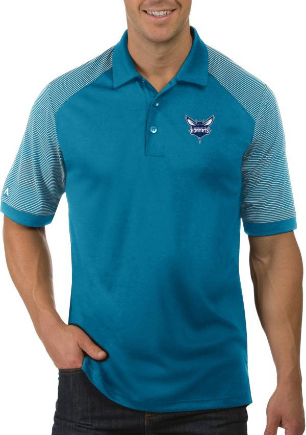Antigua Men's Charlotte Hornets Engage Polo product image