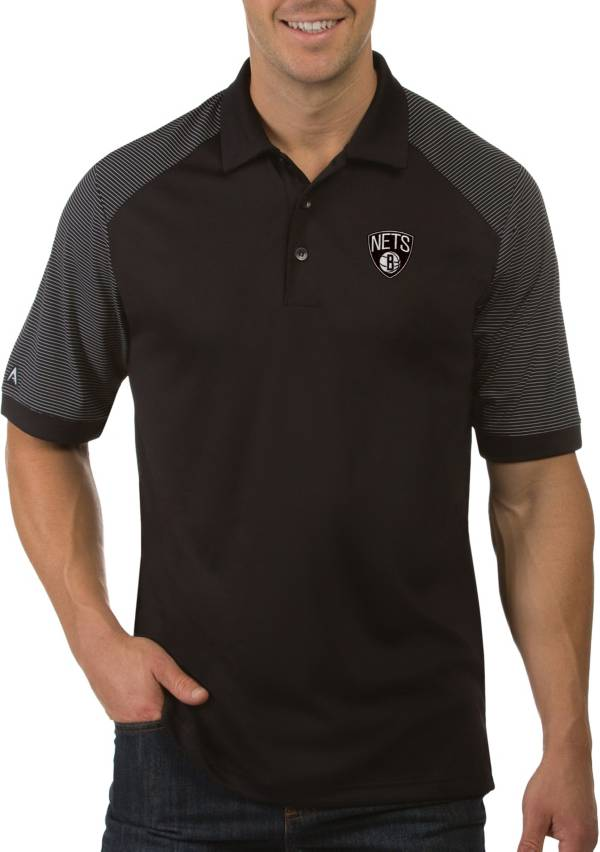 Antigua Men's Brooklyn Nets Engage Polo product image