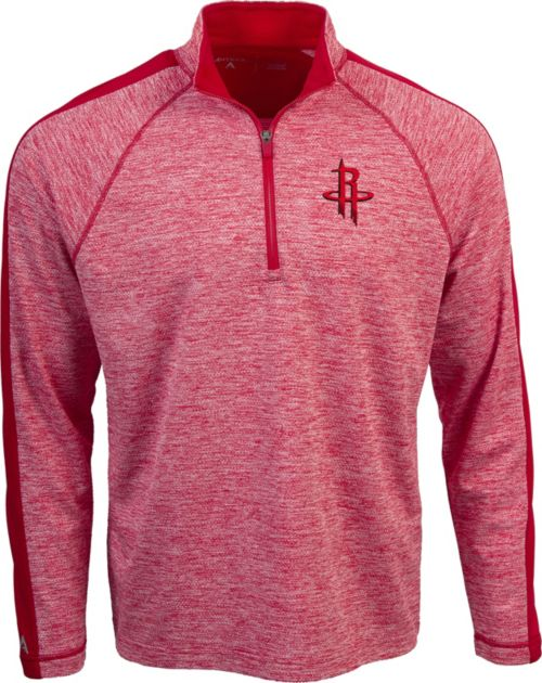 24ad720c832b Antigua Men s Houston Rockets Advantage Quarter-Zip Pullover ...