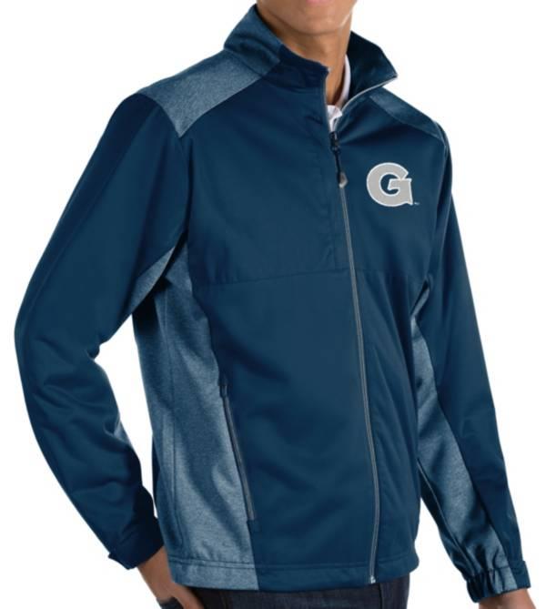 Antigua Men's Georgetown Hoyas Blue Revolve Full-Zip Jacket product image