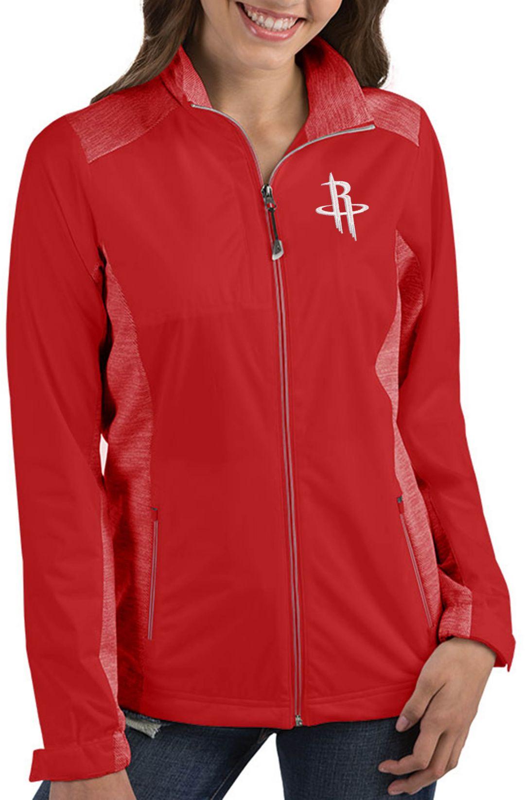 new product 7e535 6d73a Antigua Women s Houston Rockets Revolve Full-Zip Jacket. noImageFound. 1