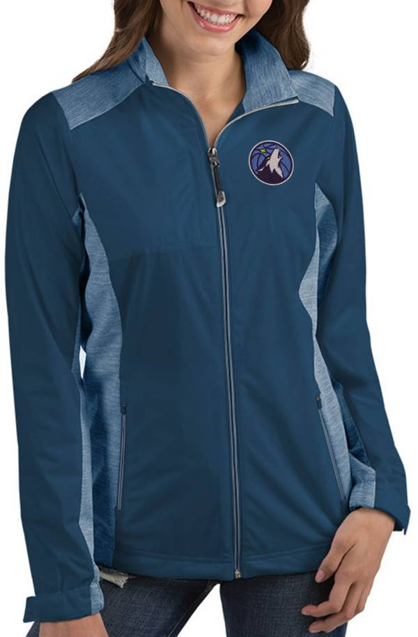 Antigua Women's Minnesota Timberwolves Revolve Full-Zip Jacket product image