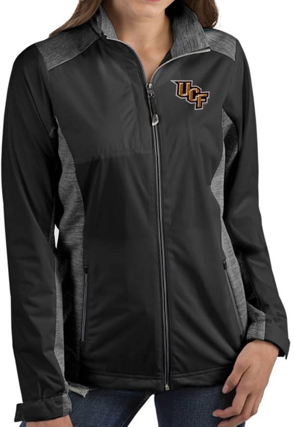 Antigua Women's UCF Knights Revolve Full-Zip Black Jacket product image
