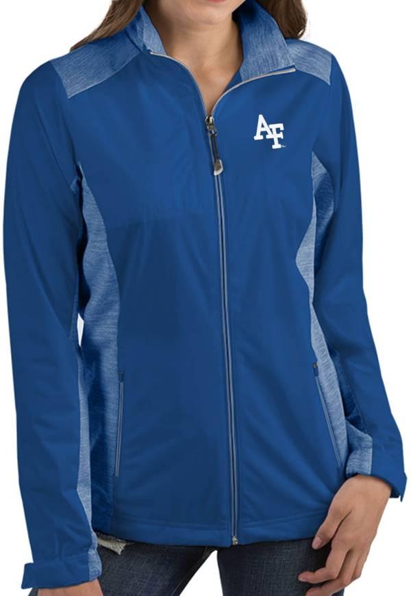 Antigua Women's Air Force Falcons Blue Revolve Full-Zip Jacket product image
