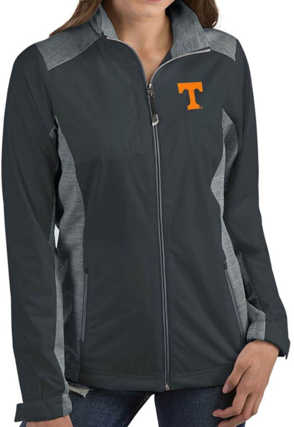 Antigua Women's Tennessee Volunteers Grey Revolve Full-Zip Jacket product image