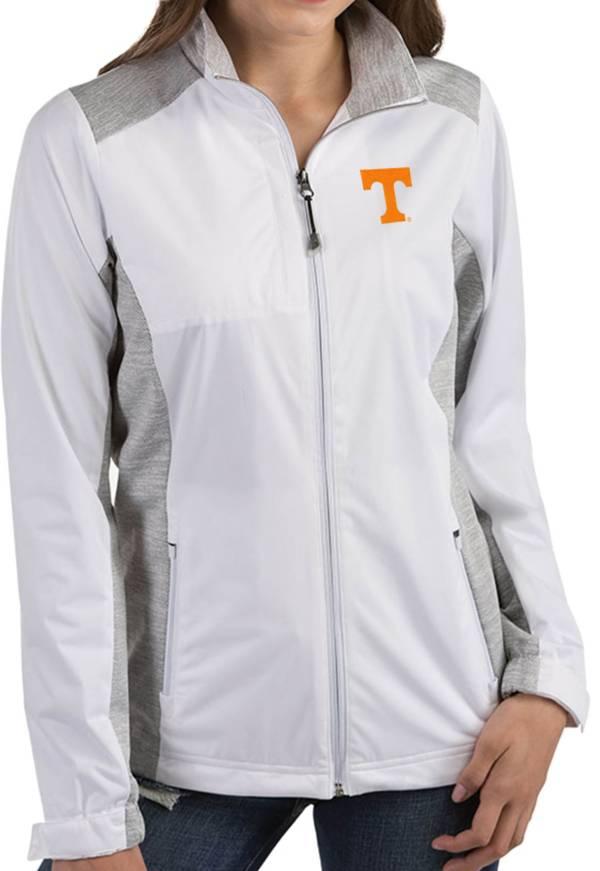 Antigua Women's Tennessee Volunteers Revolve Full-Zip White Jacket product image
