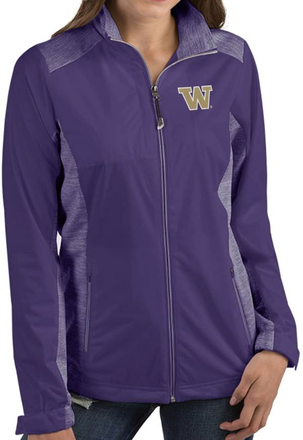 Antigua Women's Washington Huskies Purple Revolve Full-Zip Jacket product image