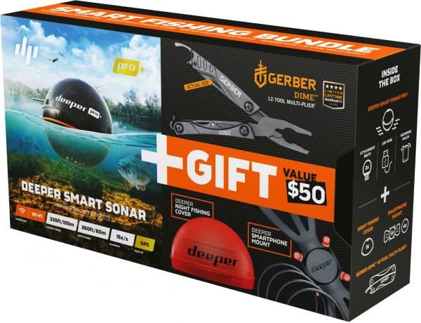 Deeper PRO+ Smart Fish Finder Special Offer Bundle product image