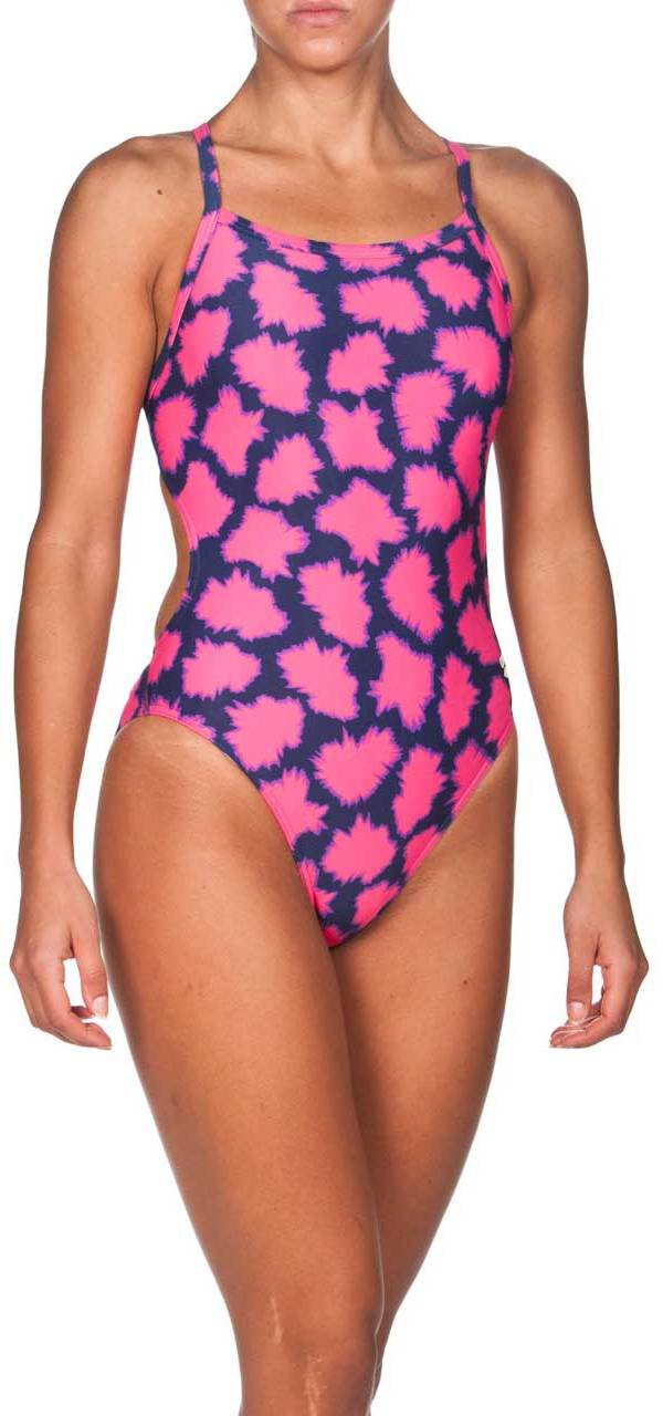arena Women's Pow Challenge MaxLife Thin Strap Open Back Swimsuit product image