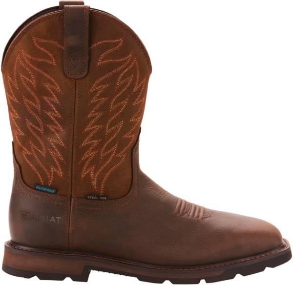 Ariat Men's Groundbreaker Waterproof Steel Toe Western Work Boots product image