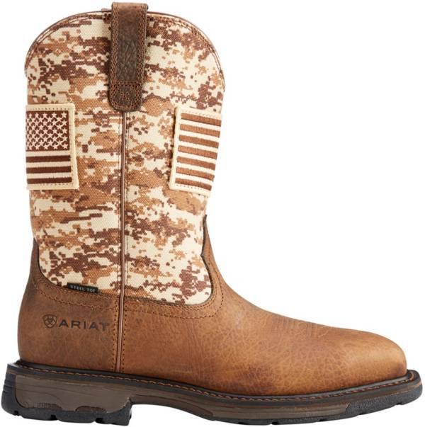 Ariat Men's Workhog Patriot Steel Toe Western Work Boots product image