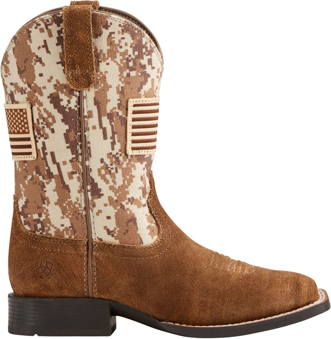 5f93d3b815e Ariat Kids' Sport Patriot Western Boots