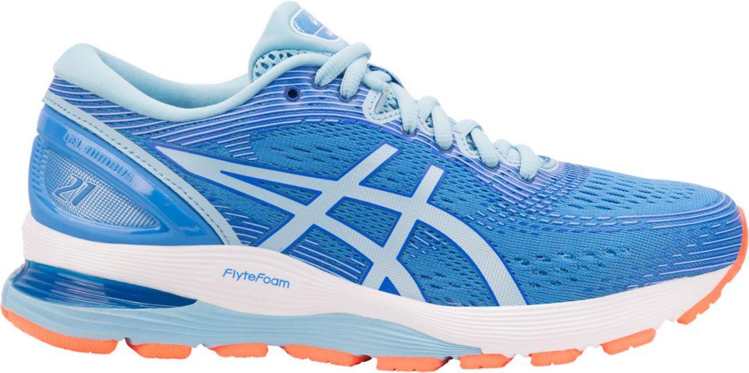 8a3af974a3 ASICS Women's Gel-Nimbus 21 Running Shoes