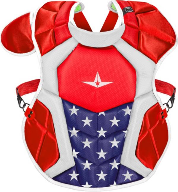 All-Star Intermediate NOCSAE Commotio Cordis 15.5'' S7 AXIS USA Chest Protector product image