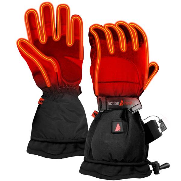 ActionHeat Men's 5V Battery Heated Snow Gloves product image