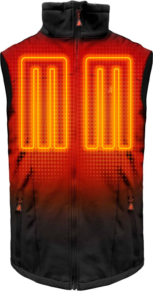 ActionHeat Men's 5V Battery Heated Softshell Vest product image
