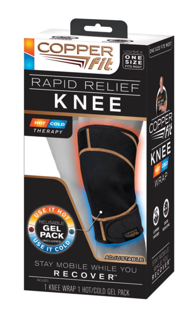 CopperFit Rapid Relief Knee Wrap product image