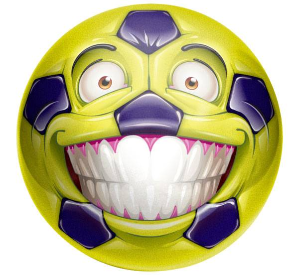 "Happy Sports 10"" Soccer Ball product image"