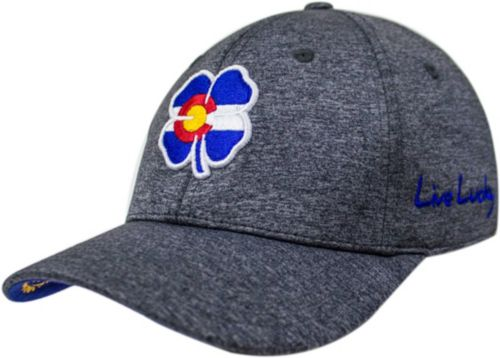 Black Clover Men s Colorado Flag Heather Golf Hat 1 58e474e1667