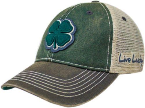 Black Clover Men s Two-Tone Vintage  8 Golf Hat 1 4334e427301