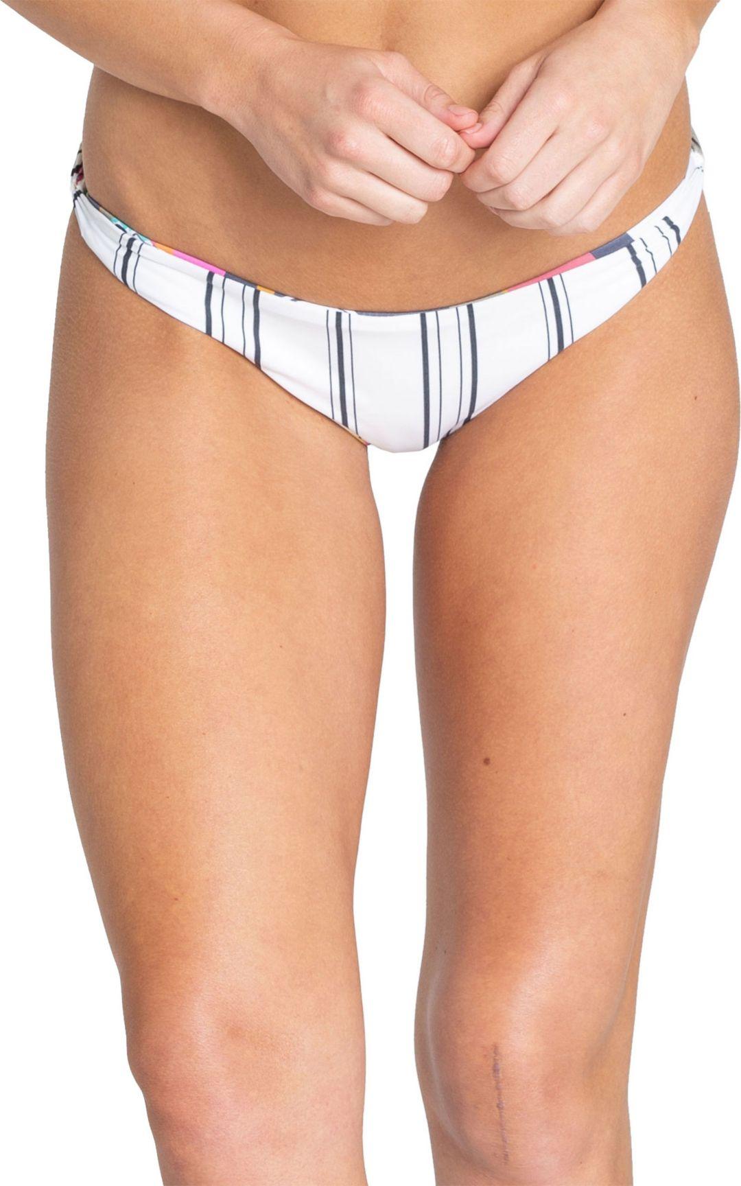 299bb0d7d3 Billabong Women's Reversible Day Drift Twisted Lowrider Bikini Bottoms.  noImageFound. Previous