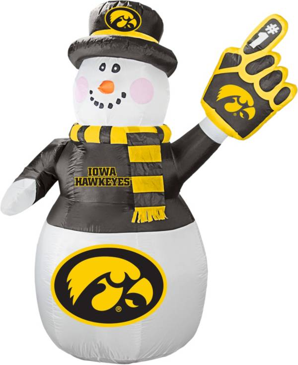 Boelter Iowa Hawkeyes 7' Inflatable Snowman product image