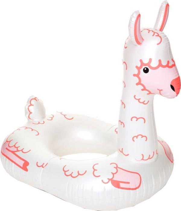 Big Mouth Llama Inflatable Pool Float product image
