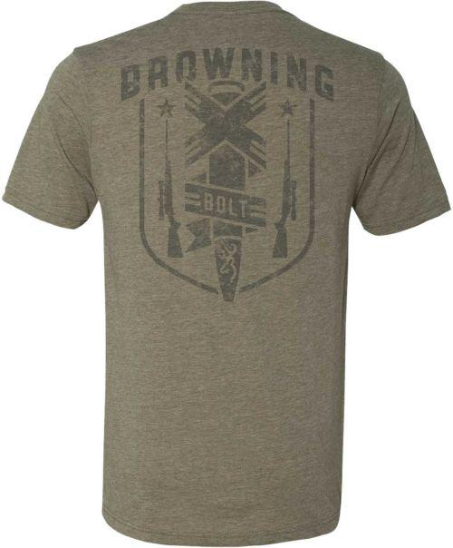 63ab87e1 Browning Men's X-Bolt Short Sleeve T-Shirt. noImageFound. Previous