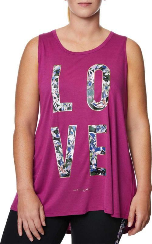 7e33982e0333b ... Plus Size Love Graffiti Floral Swing Tank Top. noImageFound. Previous